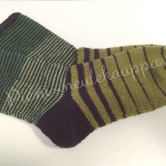 43-44-45 Sileävartiset violetti-vihreä #278-0